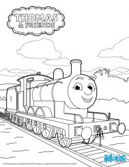 Thomas the Train Coloring Pages to Print 04613