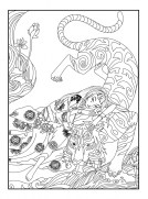 Tiger Coloring Pages Intricate Zentangle Art for Adults 21703