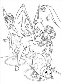 Tinker Bell Coloring Pages Printable for Girls 46179