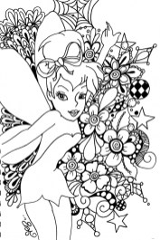 Tinker Bell Coloring Pages Printable for Girls 50189