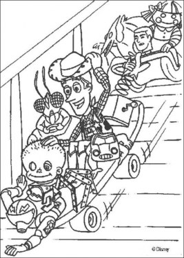 Toy Story Coloring Pages Online 16479