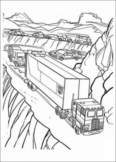 Transformers Coloring Pages for Boys 05143