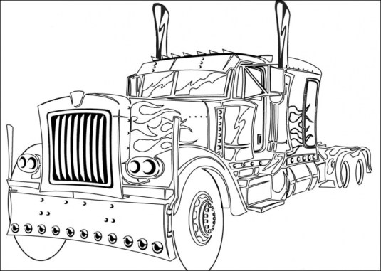 Transformers Coloring Pages Free Printable 16739