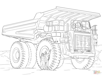 Truck Coloring Pages Online 96970
