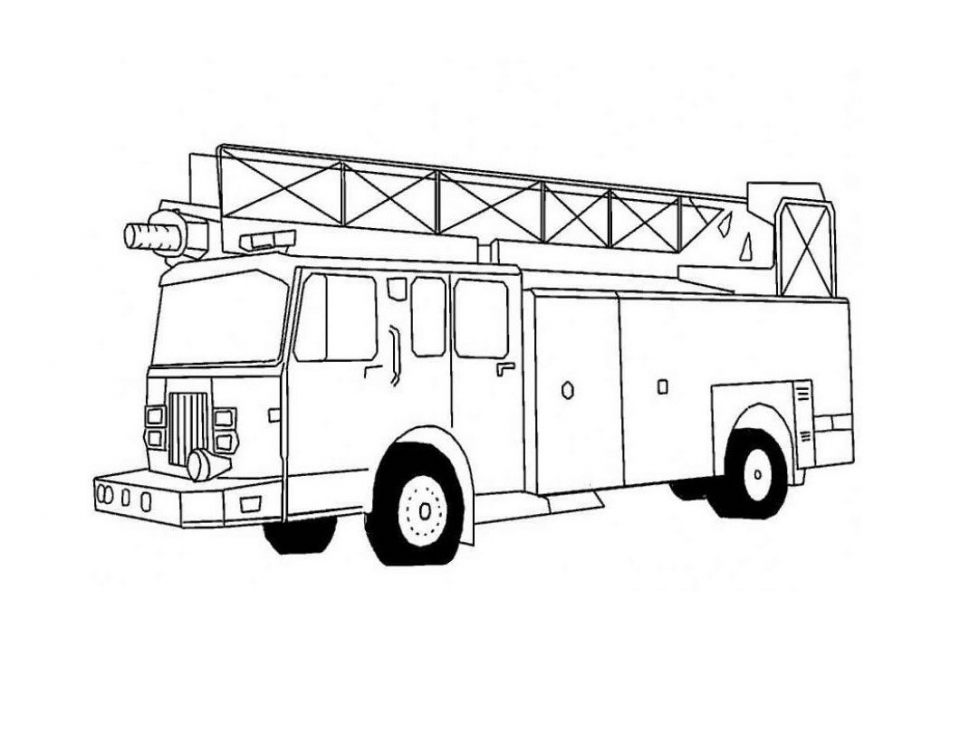 Truck Coloring Pages Printable   05670