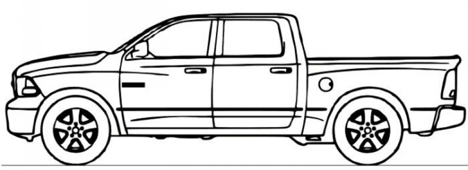 Truck Coloring Pages to Print Online   53665