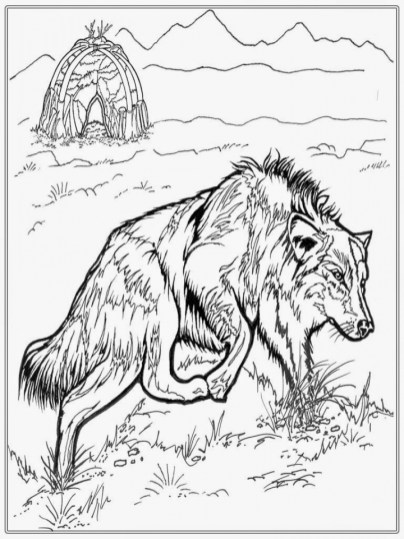 Dog for kids - Dogs Kids Coloring Pages | 539x404
