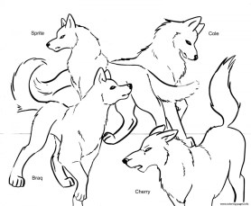 Wolf Coloring Pages Free to Print 63669