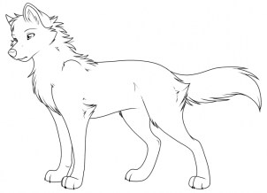 Wolf Coloring Pages Free to Print 72774