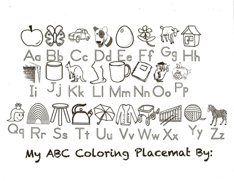 ABC Coloring Pages Printable - j5msa
