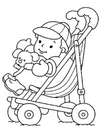 Baby Coloring Pages Online - yywm4