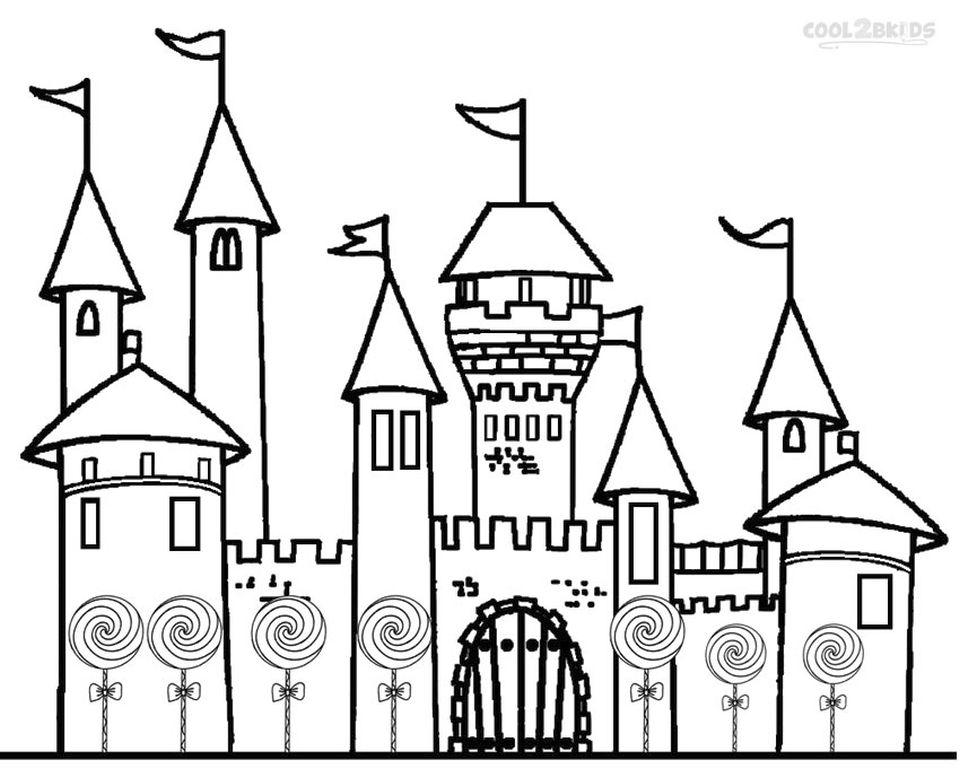 Castle Coloring Pages Printable - bd62l