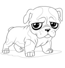 Cute baby animal coloring pages to print - 6fg7s