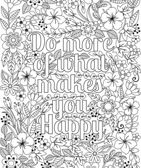 Flower Design Coloring Pages - 84851