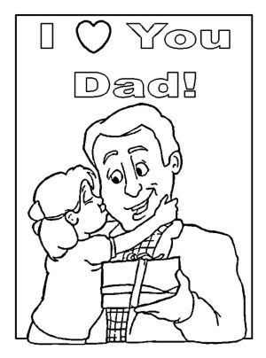 Happy Father's Day Coloring Pages - mc73x