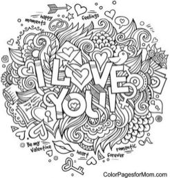 Love Coloring Pages for Adults Free - 16dh5