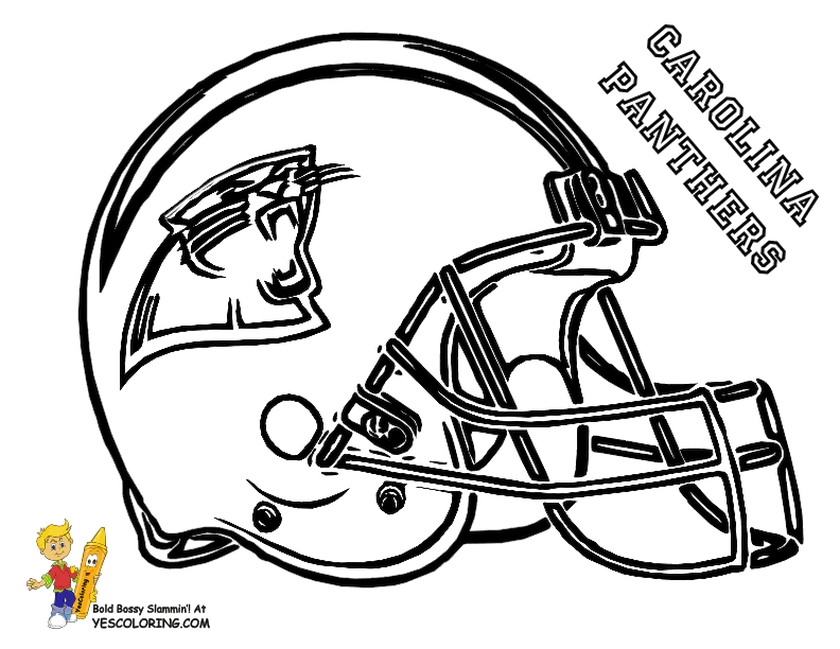 NFL Coloring Pages Helmets - 52718