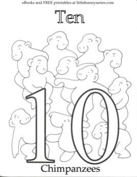 Number 10 Coloring Page - 10n10