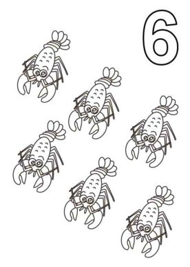 Number 6 Coloring Page - 6cvf6