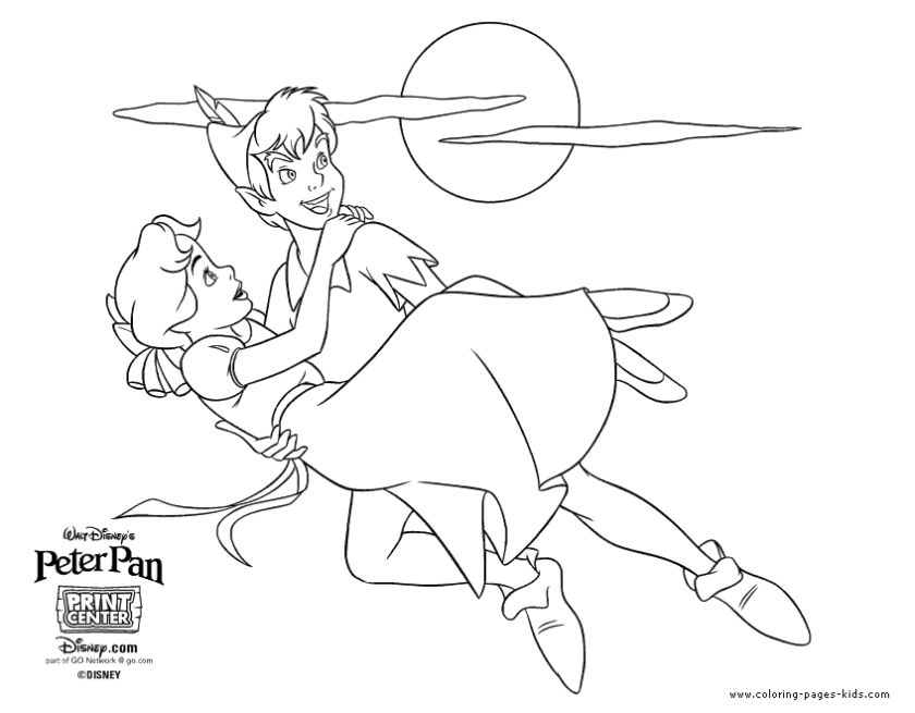 Peter Pan Coloring Book Pages - bha2l