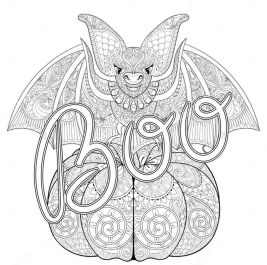 Pumpkin Coloring Pages for Adults Free - yv51b