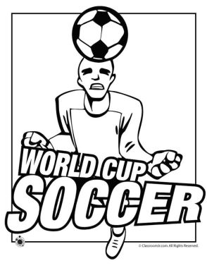 Soccer Coloring Pages Kids Printable - 74mla