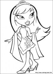 Bratz Coloring Pages Printable art41