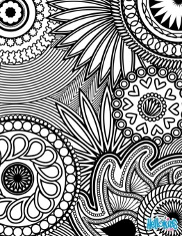 Cool Abstract Design Coloring Pages 35514