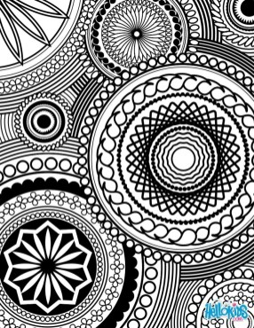 Cool Abstract Design Coloring Pages 86jh9