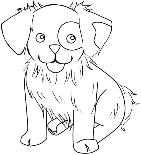 Cute Cartoon Animal Coloring Pages a4rh6