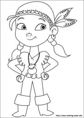 Disney Jake and The Neverland Pirates Coloring Pages 9bn5n