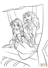 Disney Princess Tangled Coloring Pages ufg571
