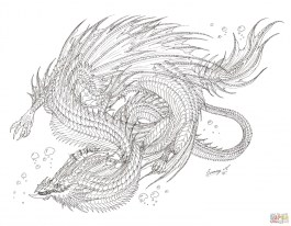Dragon Coloring Pages for Adults Printable 2ahc7