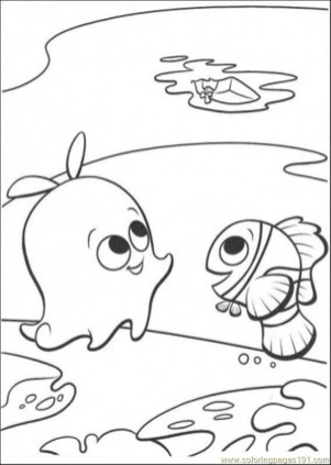 Finding Nemo Coloring Pages Disney Printable ts41b
