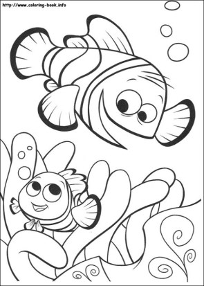 Finding Nemo Coloring Pages Printable 1627a