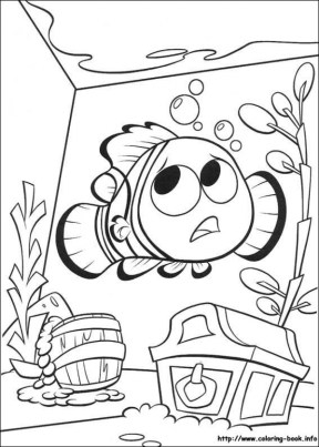 Finding Nemo Coloring Pages to Print 1647j