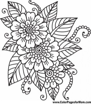 Flowers Coloring Pages 2671