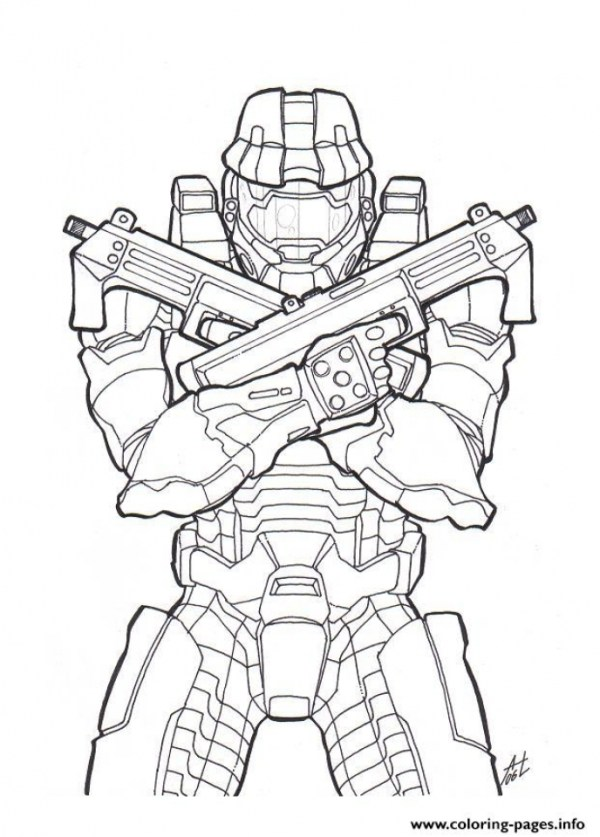 coloring pages halo # 47