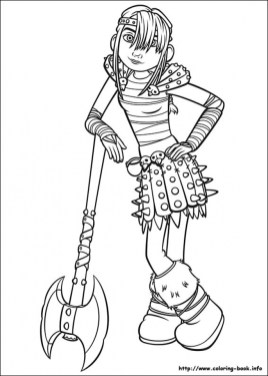 How to Train Your Dragon Coloring Pages Printable 06ae3
