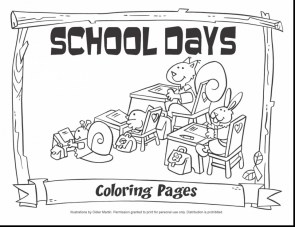 Kids Printable Back to School Coloring Pages ta318