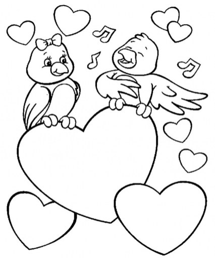 Love Coloring Pages Printable 01745
