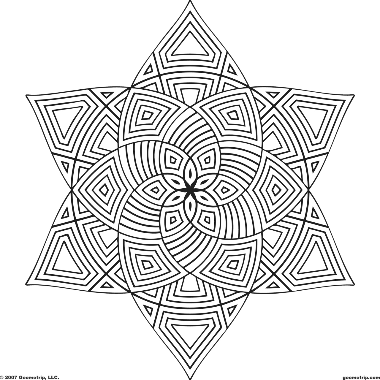 Mandala Design Coloring Pages   mby4b