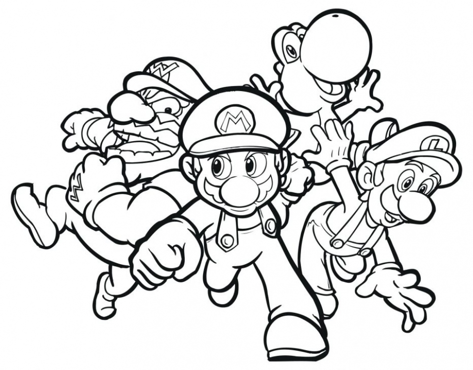- 20+ Free Printable Super Mario Coloring Pages - EverFreeColoring.com