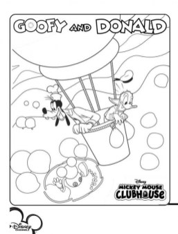 Mickey Mouse Clubhouse Coloring Pages Online 750an