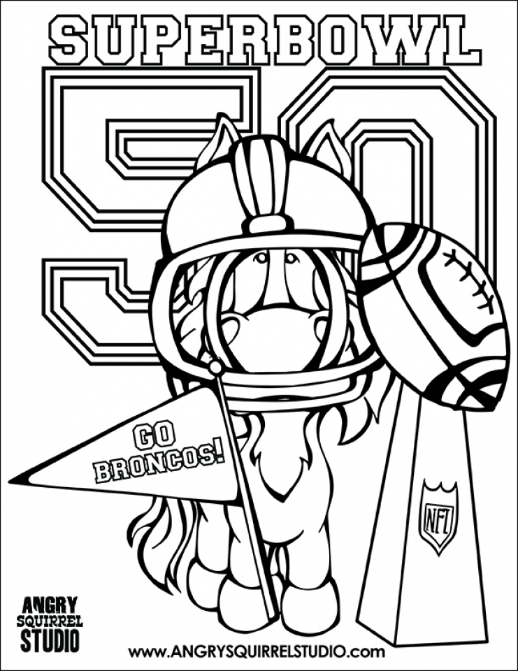 NFL National Football Logo Coloring Pages Printable | 960x741