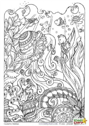 Ocean Coloring Pages for Adults 5bcj4