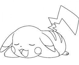 Pikachu Coloring Pages Printable gast3x