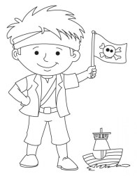 Pirate Coloring Pages for Kids at319