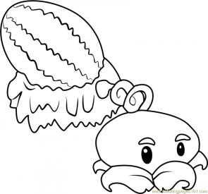 Plants Vs. Zombies Coloring Pages Free for Kids hagt8