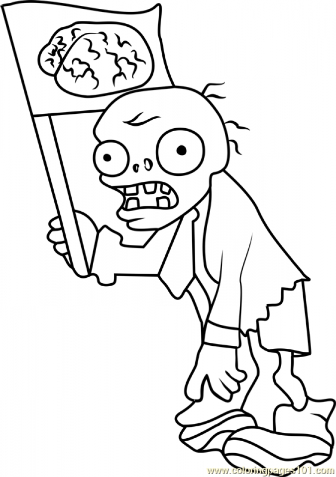 Get This Plants Vs Zombies Coloring Pages Kids Printable 15631